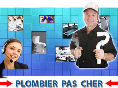 Canalisation Bouchée Châtenay en France 95190